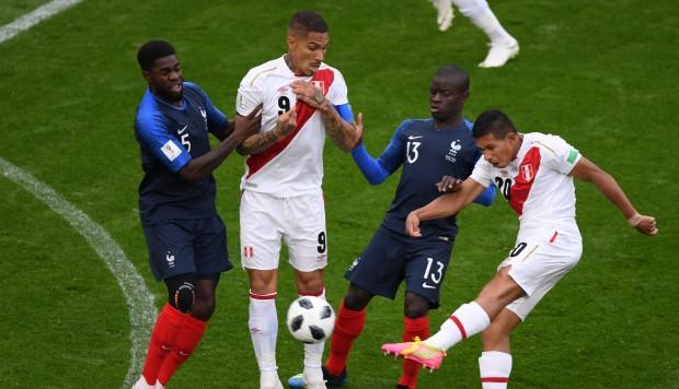 Perú perdió por la mínima con Francia y se despide del Mundial