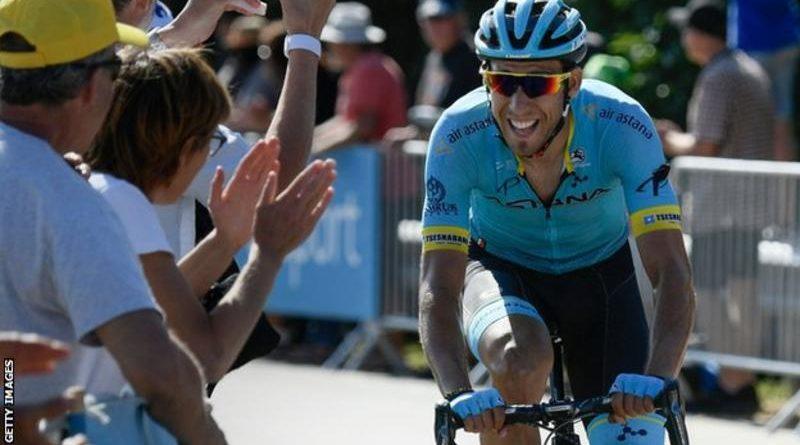 El español Omar Fraile ganó la etapa 14 del Tour de Francia