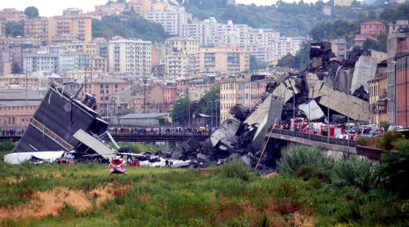 Un colombiano entre las víctimas del desplome del puente en Italia