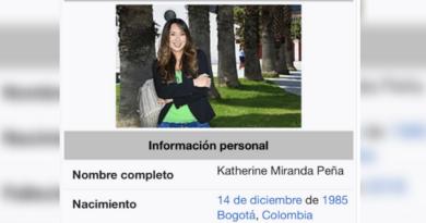 Representante a la Cámara la dan por muerta en Wikipedia