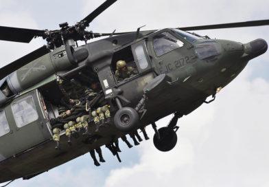 Mueren cuatro militares por caída de helicóptero Black Hawk en Cauca