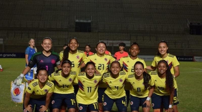 Colombia perdió en su estreno en el Mundial Femenino sub 17