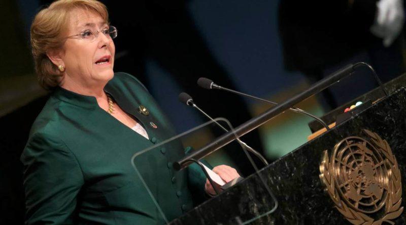 Opositores venezolanos piden nuevamente que Michelle Bachelet visite su país