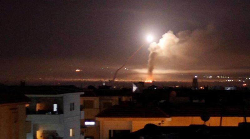 Israel ataca a objetivos iraníes en Damasco después de que se disparara un misil en los Altos del Golán