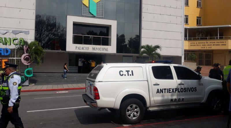 Falsa alarma de bomba en la Alcaldía de Floridablanca