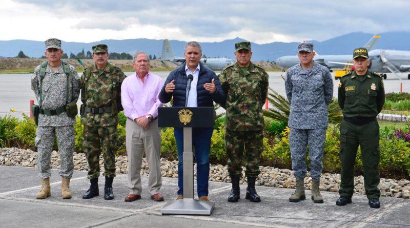 Presidente Iván Duque le pide a Cuba que capture a miembros del Eln