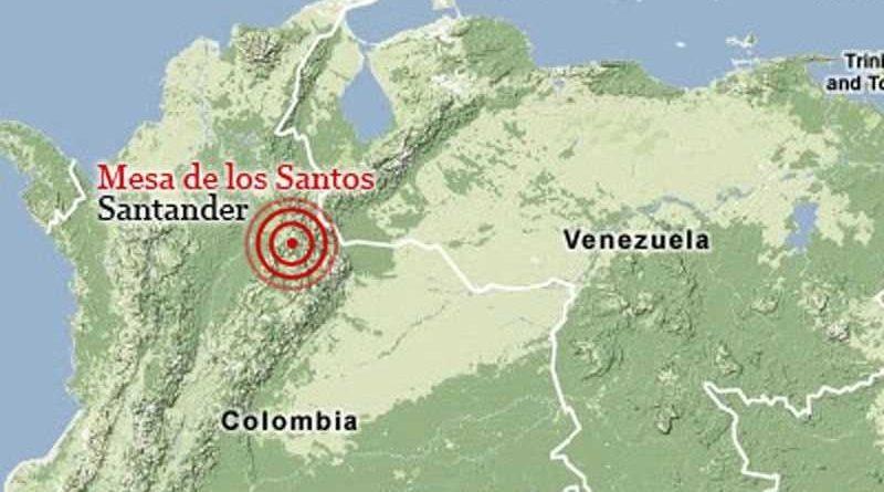Sismo de magnitud 4,5 sacude a Santander