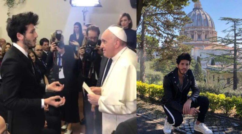 Sebastián Yatra en la banda sonora de la fundación del papa Francisco