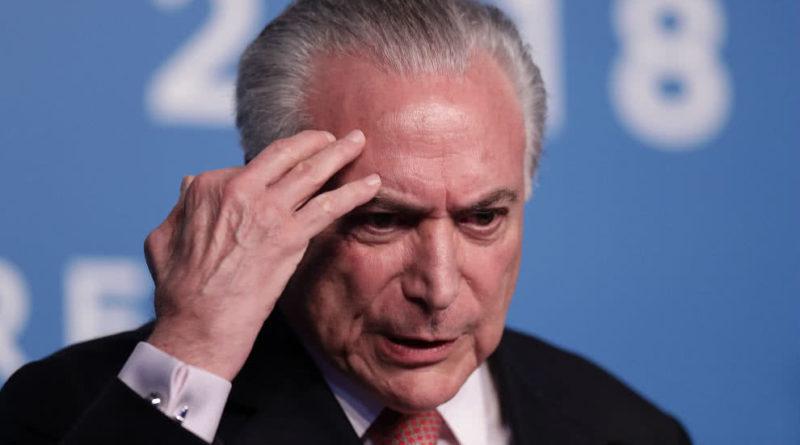 Expresidente de Brasil Michel Temer fue detenido por corrupción