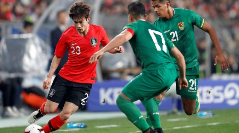 Corea del Sur próximo rival de Colombia, derrotó a Bolivia 1-0