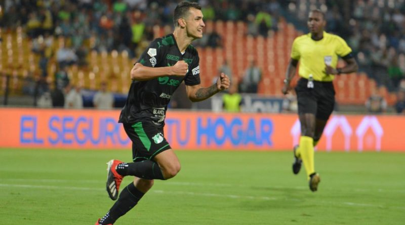 Nacional salvó el empate con Cali en el Atanasio