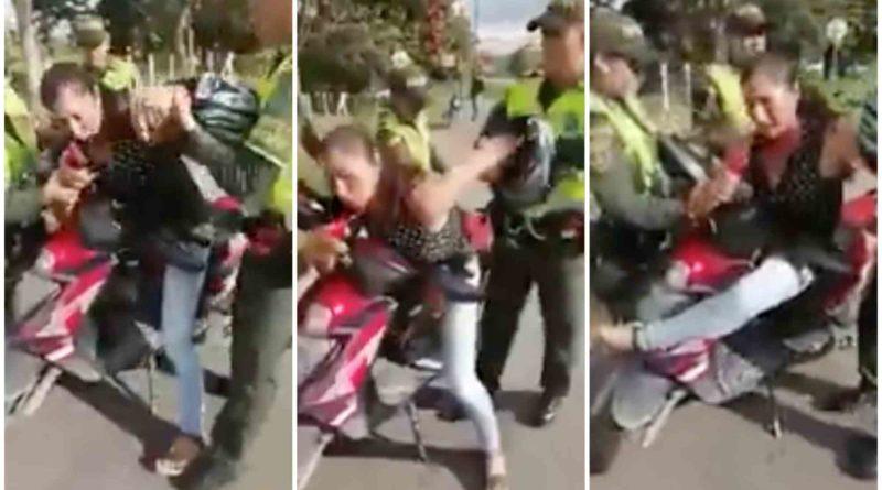 (VÍDEO) Dramática multa, por llevar rueda desgastada.