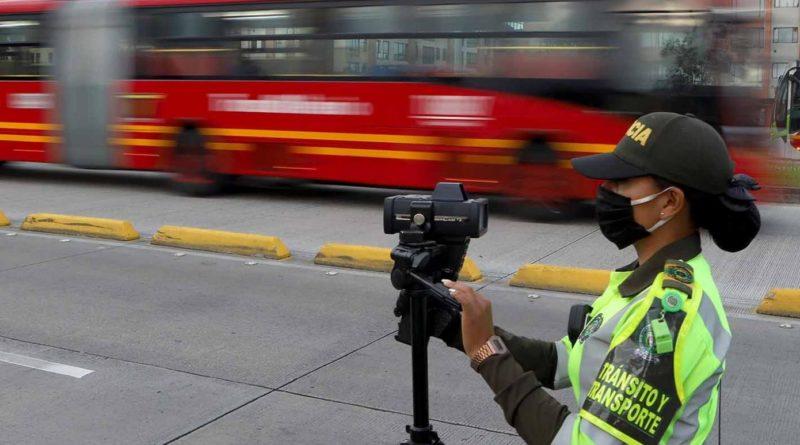 ¡Ojo! Operativos sorpresa en Bogotá para controlar el exceso de velocidad