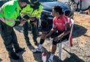 Nairo Quintana fue atropellada por un automóvil mientras entrenaba