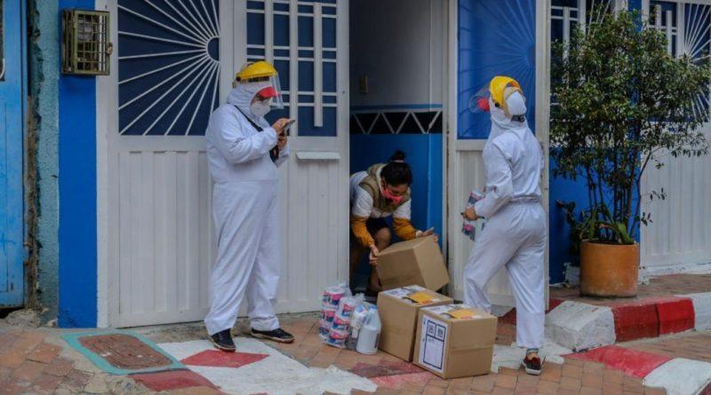 En maratón de ayudas 4.074 familias de Usme recibieron alimentos y kits de aseo