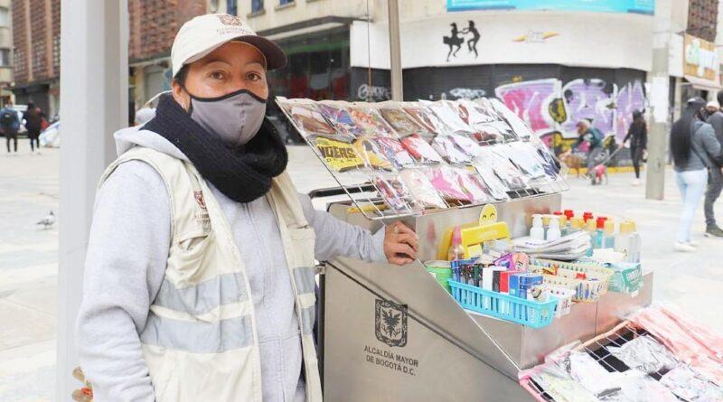 La re activación de vendedores ambulantes en Bogotá está en marcha