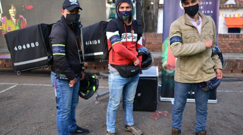 'Un pedido por la Vida', para reducir siniestros viales de domiciliarios en moto