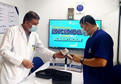 Con modernos laringoscopios enfrentarán la COVID-19 en Kennedy, Bosa y Fontibón