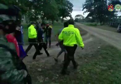 Banda de indígenas fue capturada por su presunta responsabilidad en el secuestro, tortura y acceso carnal de una mujer y su hija de 6 años
