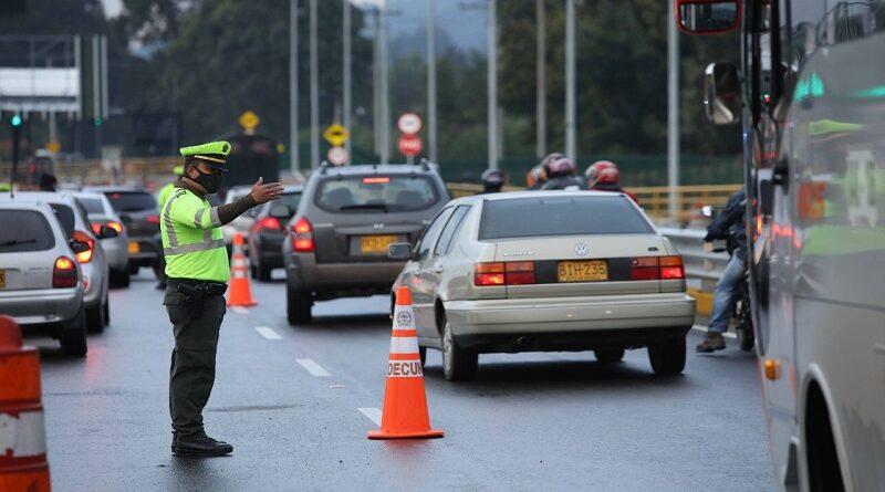 Un millón 100 mil vehículos se movilizaron por Cundinamarca este puente festivo