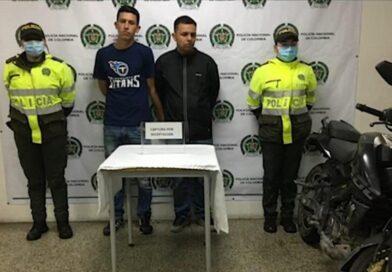 Operativos permiten capturar a dos personas por el delito de receptación