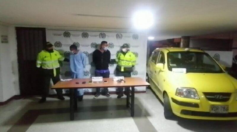Policía captura a dos personas que hurtaron a pasajeros de un bus intermunicipal