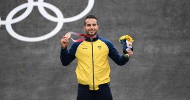 Carlos Alberto Ramírez Yepes y Mariana Pajón ganaron medalla en los Juegos Olímpicos de Tokio 2020+1