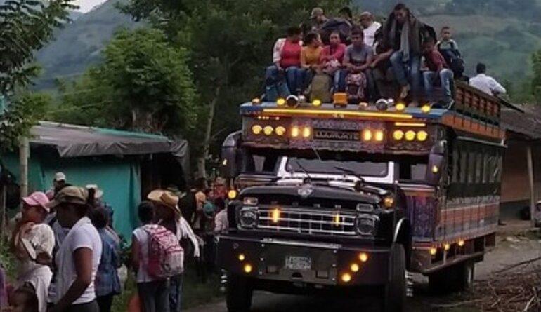 Se garantizará el regreso a los hogares de los habitantes del municipio Ituango