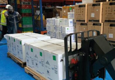 Colombia recibió 443.430 dosis del laboratorio Pfizer