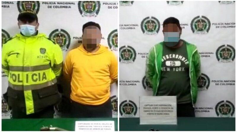 Dos capturas en Bosa y San Cristóbal en operativos de la Policía