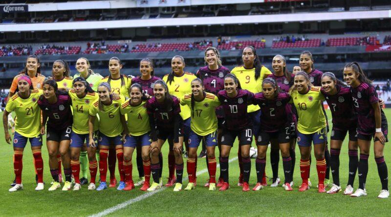 SELECCIÓN COLOMBIA FEMENINA DE MAYORES DISPUTÓ AMISTOSO FRENTE A MÉXICO