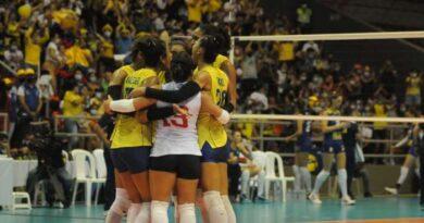 ¡Histórico! Colombia, subcampeón suramericano y va al mundial de mayores de voleibol femenino