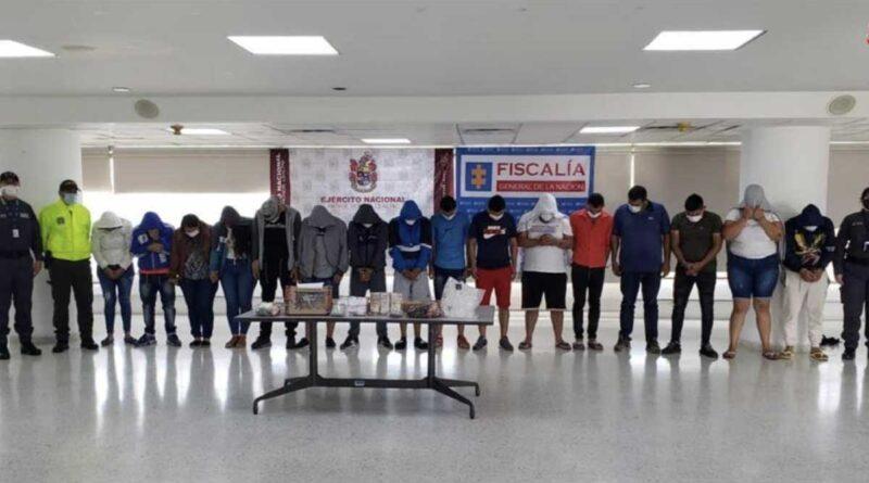 Golpe a estructura delincuencial 'Los Camilos' dedicada al homicidio y a la comercialización de estupefacientes en Bogotá, Soacha (Cundinamarca) y Flandes (Tolima)
