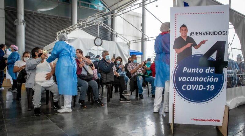 Bogotá superó las ocho millones de dosis aplicadas contra COVID-19